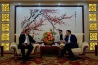 ÇANKAYA BELEDIYESI - Çankaya-Pekin Arası Bağlar Güçleniyor