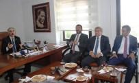 PARTİ MECLİSİ - CHP Milletvekilleri Eğitim-Sen'i Ziyaret Etti