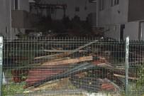 MAHSUR KALDI - Düzce'de Hortum Açıklaması 3 Yaralı