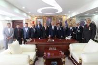CEYHAN - Gazilerden Başkan Saraçoğlu'na Ziyaret