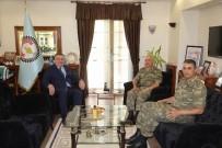 GAZI MUSTAFA KEMAL - Komutanlardan Başkan Kesimoğlu'na Ziyaret