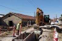 KANALİZASYON ÇALIŞMASI - Meram Ve Karatay'da Kanalizasyon Hizmet Ağı Genişliyor