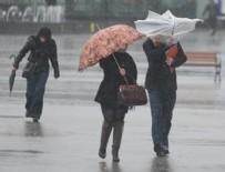METEOROLOJI GENEL MÜDÜRLÜĞÜ - Meteoroloji'den 10 il için fırtına uyarısı