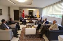MUSTAFA ŞAHİN - Milletvekili Şahin Rektör Kızılay'ı Ziyaret Etti