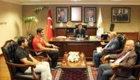 ALTIN MADALYA - Milli Güreşçi Taha Akgül'den AK Parti Ankara İl Başkanlığı'na Ziyaret