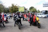 ŞAHINBEY BELEDIYESI - Motorculardan Gazilere Vefa