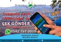 WHATSAPP - Sungurlu Belediyesi Whatsapp İletişim Hattı Kurdu