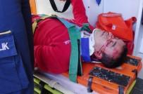 GÖRGÜ TANIĞI - TIR'ın Çarptığı Yaya Ağır Yaralandı