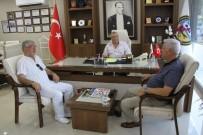 ŞEHİR İÇİ - TŞOF Başkanı Apaydın'dan Kubaliç'e Ziyaret