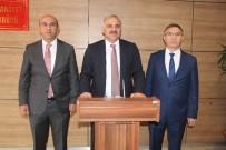 MURAT ZORLUOĞLU - Vali Zorluoğlu, Emniyet Müdürlüğü'nü Ziyaret Etti