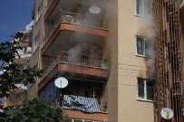 HÜSEYİN ÇETİN - Yangın Paniği 10 Katlı Binayı Tahliye Ettirdi