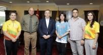ALTIN MADALYA - 2016 Rio Olimpiyatlarından Madalya İle Dönen Taşın'dan Trakya Üniversitesi'ne Ziyaret