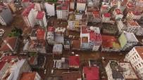 Afetin Boyutu Havadan Görüntülendi