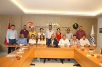 EYLEM PLANI - AK Parti Mersin İl Yönetimi, Kent Ekonomisine Yön Veren STK'larla Bir Araya Geldi