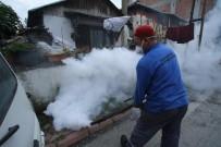 KONURALP - Akyazı Belediyesi Ekipleri Çöp Evi Temizledi