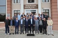 HAMDOLSUN - Başkan Toçoğlu ASKF'yi Ziyaret Etti