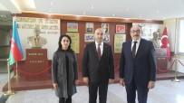 HAYDAR ALİYEV - Başkonsolos Guluyev'den, Haydar Aliyev Mesleki Ve Teknik Anadolu Lisesine Ziyaret