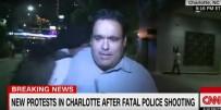 MUHABIR - CNN muhabiri canlı yayında saldırıya uğradı