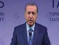 NEW YORK - Cumhurbaşkanı Erdoğan New York'ta konuştu