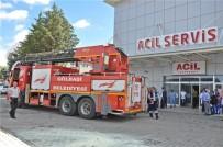 GÖLBAŞI - Gölbaşı Devlet Hastanesi'nde Yangın Tatbikatı Yapıldı