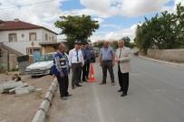 YAYA KALDIRIMI - İncesu Belediyesi Yaya Kaldırımı Çalışmalarına Başladı
