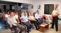 HÜSEYIN PARLAK - Jandarma'dan Servis Şoförlerine Eğitim