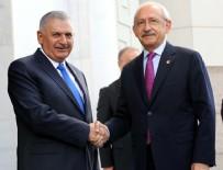 AK PARTİ GENEL MERKEZİ - Kılıçdaroğlu, ilk kez AK Parti Genel Merkezi'nde