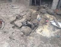 ROKET MERMİSİ - Kilis'e Suriye'den 2 roket atıldı: Yaralılar var