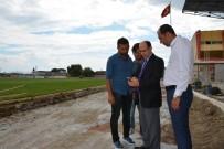 TAHSIN KURTBEYOĞLU - Söke Şehir Stadı'ndaki Çalışmalar Yakın Zamanda Bitecek