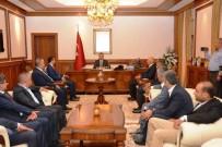 MALATYASPOR - Yeni Malatyaspor Yönetiminden Vali Toprak'a Ziyaret