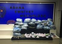 ADANA EMNİYET MÜDÜRLÜĞÜ - Adana'da Uyuşturucu Operasyonu Açıklaması 9 Kişi Tutuklandı