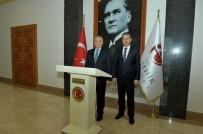ESKİŞEHİR - Afyonkarahisar Valisi Aziz Yıldırım, Vali Azmi Çelik'i Makamında Ziyaret Etti