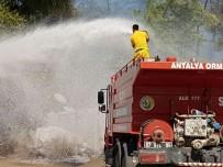 HELIKOPTER - Antalya'da Orman Yangını