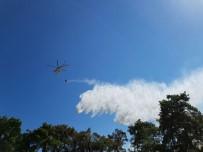 HELIKOPTER - Antalya'daki Orman Yangını Kontrol Altında