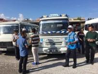 HASSASIYET - Aydın BŞB Trafik Zabıtası'ndan Okul Servislerine Sıkı Denetim