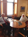 Başkan Akgün'den Anadolu Üniversitesi Rektörü Gündoğan'a Ziyaret