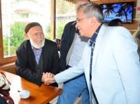 İKINCI BAHAR - Başkan Çetin, Kızılcahamam'da Dede Ve Nineleri Ziyaret Etti