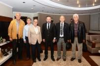 HASSASIYET - Başkan Doğan, ADD Başkanı Özdemir'i Makamında Ağırladı