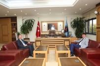 MUSTAFA ÜNAL - Başkan Türel, AÜ Rektörü Ünal'ı Ziyaret Etti