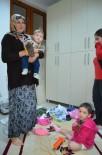 Beşikdüzü'ndeki Selde Torunlarıyla Birlikte Ardıçatak Mahallesinde Mahsur Kalan Babaanne Kurtarıldı