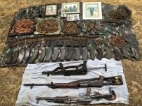 SİLAH DEPOSU - Beytüşşebap'ta PKK'nın Silah Deposu Ele Geçirildi