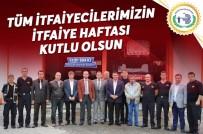 BOZÜYÜK BELEDİYESİ - Bozüyük Belediye Başkanı Fatih Bakıcı İtfaiye Haftası'nı Kutladı