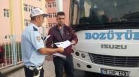 SERVİS ARACI - Bozüyük'te Öğrenci Servisleri Denetleniyor