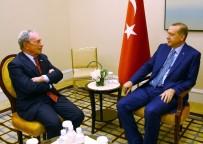 NEW YORK - Cumhurbaşkanı Erdoğan, Michael Bloomberg'i Kabul Etti