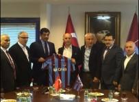 TRABZONSPOR BAŞKANı - Katar'ın Ankara Büyükelçisi Al Şafi Trabzonspor'u Ziyaret Etti