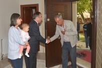 KOMANDO - Kaymakam Akgül, Şehit Ailesini Evinde Ağırladı