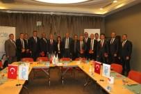 KAYSERI TICARET ODASı - Kayseri Ticaret Odası Yönetimi Banka Bölge Müdürleri İle Bir Araya Geldi