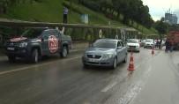 E-5 KARAYOLU - Kaza Yapan Metrobüs Yoldan Kaldırıldı