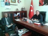 BELEDİYE BAŞKAN YARDIMCISI - Malkara İlçe Spor Müdürü Barış'tan Belediye Başkan Yardımcısı Yılmaz'a Ziyaret