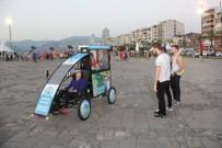 ALSANCAK - Menderes'in Bisik-Led'i İzmir Sokaklarında